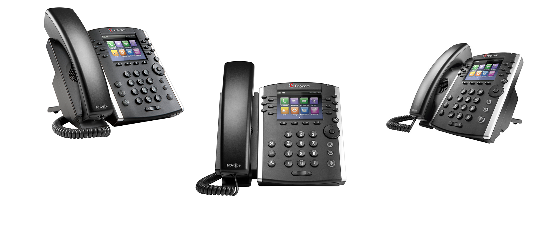 XS Cloud Voice Solutions - Polycom, IP Telephone, SIP Phone, 12-Line IP Phone