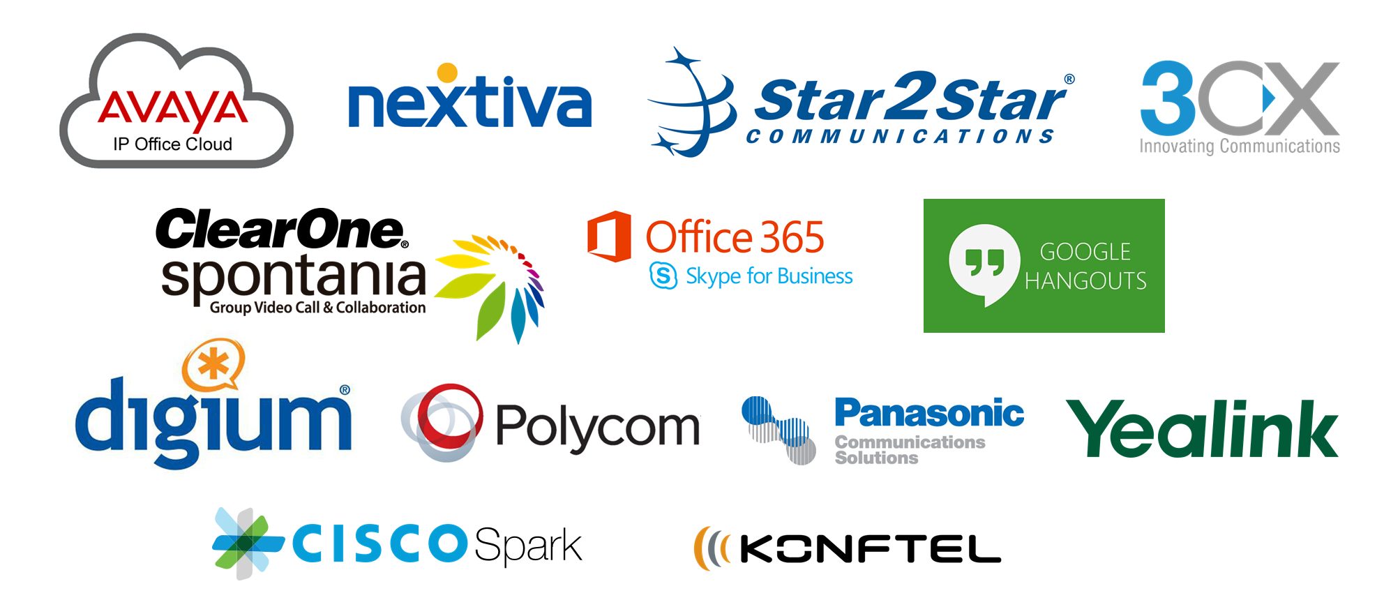 XS Cloud Voice Solutions - Avaya, Nextiva, Star2Star, 3CX, ClearOne, Office 365 Skype, Google Hangouts, Digium, Polycom, Panasonic, Yealink, Cisco, Konftel