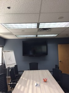 "70"" Sharp Aquos White Board Wall Mount Installation Tinton Falls,NJ"