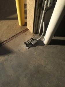 garage door mag lock
