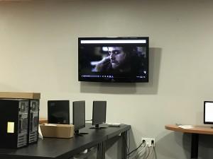 Shore office move voice and data rack an AV installation