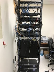 voice and data rack cleanup